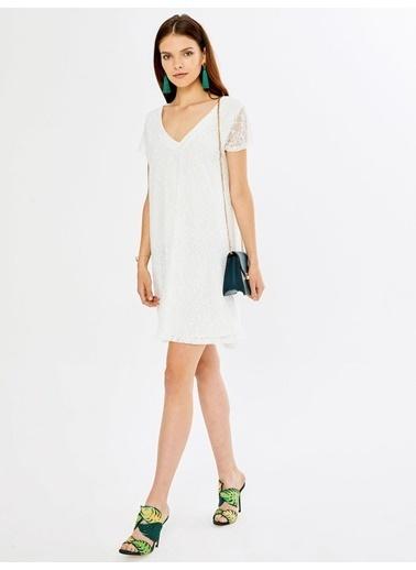 Xint Elbise Beyaz